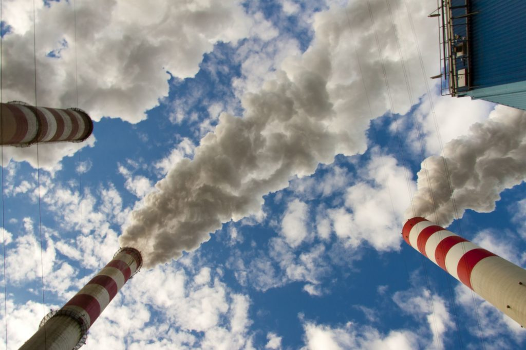 15644261 - big pollution in polish coal power plant